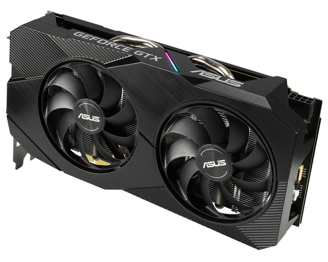 В семейство видеокарт ASUS Dual GeForce GTX 1660 Ti EVO вошли три модели