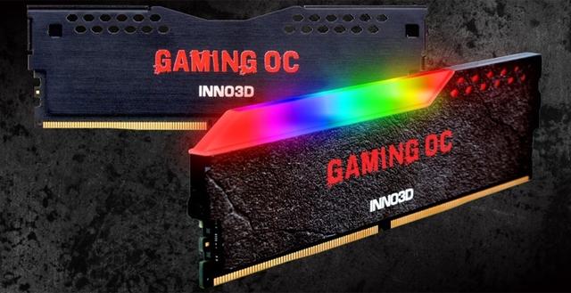 Inno3D Gaming OC: модули памяти DDR4 с эффектной подсветкой