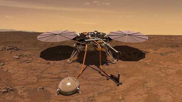 Зонд NASA InSight впервые зарегистрировал «марсотрясение»
