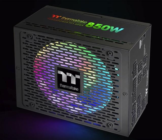 Thermaltake Toughpower PF1 ARGB Platinum: блоки питания с подсветкой мощностью до 1200 Вт