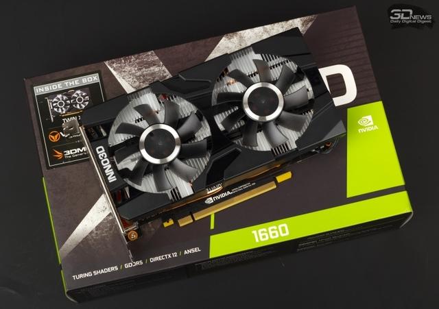Новая статья: Обзор видеокарты Inno3D GeForce GTX 1660 Twin X2: выбор экономных