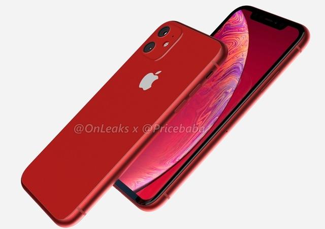Концепт-рендеры и видео смартфона iPhone XR 2019
